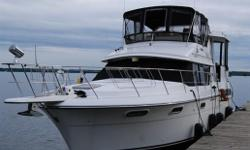 For further information on this vessel, please contact either Grant or Pat Bowlby at Harris & Ellis' Gananoque Office at               613-659-3344         613-659-3344 or by email at grantandpat@harrisellis.com  This lovingly cared-for, spacious luxury
