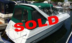 SOLD 310 Cabrio, new camper top, 5.7 Mercruisers, A/c & Heat, Windlass Large used boat inventory including Seaswirl, Lowe, Searay, Four Winns, Chaparral, Larson, Seadoo, Bayliner, Maxum, Ranger, Mariah, Tiara, Chris Craft, Cruisers, Cruisers Inc.,