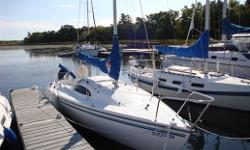 2001 Catalina Capri 22 Tall Rig Fin Keel Racing Package Symmetrical spinnaker Interior Cushion & kitchen galley 155% Genoa 2002 100% Jib 2004 85% Jib 2002 Plastimo Compass 2002 Raymarine ST-40 Bidata (depth & speed) 2003 Raymarine auto pilot ST-1000 1999