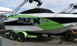 WE HAVE TWO OF THESE SWEET BABY'S ON OUR LOT! ONE IS MAGNIFICENT ORANGE AND ONE IF FABULOUS LIME GREEN!! COME AND SEE US TODAY , SO YOU CAN GET OUT ON THE WATER AND TEAR IT UP :) Rinker Captiva 220 MTX Bow Rider Engine: 350 Mag MPI, 330 HP, Bravo 3