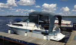 1987 Doral Cavalier 25' Cruiser/ Weekender (sorry no trailer, however this is a well-kept boat with all the accessories you will need) Excellent running boat, 4.3L V6 economical on gas. Sleeps 4 comfortably in V berth and aft cabin, bathroom with shower