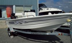 WAS $22,564.00 NOW $19,743.00 New Package includes Triumph 170 CC, Mercury 40 h.p. 4 stroke, Triumph galvanized trailer. Triumph. The World's Toughest Boats. 17'-22' A virtually indestructible boat, selling for a fraction of the price of other