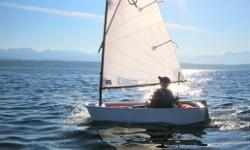 The best Learn to Sail Dinghy for kids aged 6 to 15.  If your kids are interested in joining the race team at the local yacht club, this is the boat for them!  The boats are stable and safe, and most of all are a great vehicle for those who want to learn