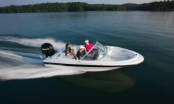 Options on this 160 include the following :Bow & Cockpit Covers, Ski Tow Pylon, Galvanized Trailer.Bayliner's signature black hullside gelcoat comes standard on the 160 Outboard.Bayliner's signature black hullside gelcoat comes standard on the 160