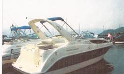 "2004 Bayliner 285SB 28""9' 350 Mag MPI Mercruiser Bravo III 300hp. Installed options: full camper canvas."