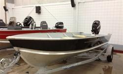 18 Foot boat with a 60 Hp Mercury 4-stroke electric start, battery included, galvanized trailer,
