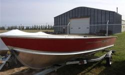 18 Foot boat with or without trailer...call us for more details....306-862-4755