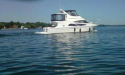 Low hour GEM! One of the nicest 41's available. Bring all offers. Beautiful well equipped motor yacht. Come today and have a peak. Hull and Deck Chart Plotter, Compass, Depth Sounder, Fish Finder, GPS, Horn(s), Navigation Lights, Radar, Rudder Indicator,