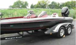 2006 Ranger Z20 Comanche Series, SIMPLY STUNNING!! L, polished aluminum hardware, and a lengthy list of factory-installed features and equipment, the NMMA certified Z20 Comanche clearly sets new standards for the next generation of bass boat design. Built