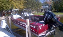 Like new includes skis and other accessories. Tracker trailer with brakes hardly used. Kept indoors for winter and indoor marina slip in summers. Totally outfitted for fishing, water skiing, tubing, etc.