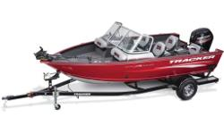 Tracker's most popular aluminum Deep V is packed with fishing and recreational features like a ski tow pylon, a trolling motor, jump seats, and a Bluetooth®-capable stereo, so you can fish or play?or both?all day! Built on Tracker's legendary Deep V hull