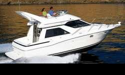 Unique boat for it's size as it has 2 staerooms and Flybridge! Nice boat priced to sell!  Mercruiser 5.7L Bravo II. Nominal Length: 32.92' Manufacturer Provided Description: With the Bayliner 3258 Avanti Command Bridge you can enjoy cruising in rain or