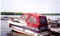 1987 Peterborough Constellation 25' - 1995 Shoreland'r trailer - comes with all bumpers and lines, S.S. BBQ, CD player, marine radio, depth sounder, microwave, stove, shower - sleeps 5 (613) 851-9606 cell (613) 835-9709 (home) can be seen in Cumberland or