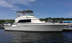 1990 Bertram Convertible 54,3 stateroom,3 heads,recent interiour refit,well equipped with all amenities. Detroit diesel power 12V92's, Onan 15kw generators x 2 Yacht is in very nice condition,serious enquiries only.