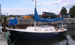 We've bought a bigger sailboat, so Windemere, our 75 24' Bristol Corsair is for sale. One of a few 24' declared for Ocean sailing with a weight of 6500lbs, of which 3500 is all in it's FULL keel design, and yet a PERFECT boat for a first time sailor to