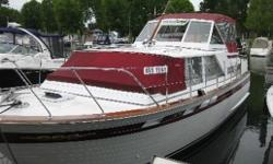 Hull And Deck:Excellent Condition with recent woodwork, paint and varnish. Newer tops - vinyl and chrome. Both engines completely overhauled recently. Beautiful TURNKEY boat stored inside in the winter. Cabin And Interior:Very clean with many updates. Aft