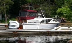 - 1969 Chris Craft SeaSkiff (lapstrake). - Survey 2010. - New Paint & woodwork varnished. (3 coats). - Bottom sanded, caulked & painted. - New vinyl in biminie. - Boat in good condition.