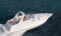 Free Sea Trial with Every Purchase JUST REDUCED $57,900.0 Handsome as it is rugged, this Monterey 302 Cruiser is powered up with twin 5.0L Mercruisers with alpha 1 gen II's to offer great performance even in high seas. Comfortable seating in the cockpit,