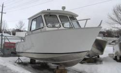 23' - 27' Welded Aluminum Crusier Price for Boat Only Starting from $44535. Mercury and Yahmaha power avail.  Central Marine is the largest volume dealer of Stanley Boats.  Please call our sales department for more information and pricing.