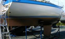 VERY CLEAN, knowledgeably maintained cruising boat. Sail- Main- Hood- new, Genoas #1,#3-very good condition. Spinnaker with North Sails snuffer- like new, plus pole and gear, lazy jacks, Simplicity Furler, Stainless bow roller, stainless swim ladder with