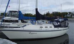 Tender and motor included Bukh 2 cylinder diesel with 20 gallon fuel tank Gori folding propellor All sheets and halyards replaced 2004 North Sails - Main - #1 Mylar - #2 Dacron - #3 Heavy Dacron Gennaker with snuffer, sheets and blocks Lazy Jacks Lewmar