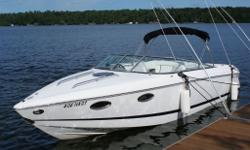 Cobalt Cuddy Cabin, excellent condition, stored on hoist, low hrs, Mercruiser 496, Bravo Drive, Solid Quality Boat, Aluminum TA Trailer included, Ask for John 416 684 9955