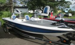 2008 STRATOS 186XT COMES WITH - PAINTED CUSTOM STRATOS MATCHING TRAILER - 90 YAMAHA OUTBOARD - TROLLING MOTOR PLEASE CONTACT SALES TO GO OVER FULL LIST OF OPTIONS PACKAGE PRICE $23155.00 PLUS TAX AND LICENSE BIWEEKLY PAYMENT $90.00 ON APPROVED CREDIT