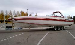 42? Excalibur Eagle 1986, Cigarette offshore styling, fresh water since new, twin 496 ci new balanced and blue print 2013 by Active Engines, aluminum centrer-rise exhaust manifolds new 2013, 850 Holley carbs new 2013, MSD distributors and ignition new