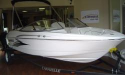 2014 NEW CARAVELLE 19 EBO WITH MERCURY 4 STROKE POWER!! U-SHAPED REAR BENCH WITH REAR FACING LOUNGE!! POP-UP TABLE!! BUILT-IN COOLER!! FLIP-UP BOLSTER HELM SEAT!! CUSTOM TRAILER!! UNIQUE DESIGN!! FULL INSTRUMENTATION!! FROM $21999 plus tax, freight+PDI.