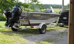 Great Boat for Fishing and/or Water Sports. Original owner since 2007, hardly used over the past 4 years. Stored in winters. Rod Storage, 2 Livewells (1 with bait bucket), lots of storage. 4 mounted rod-holders,list goes on. Contact seller for more