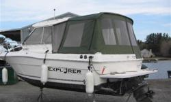 2003 CAMPION 682 EXPLORER $39,900.00 - BROKERAGE SALE Click here to check out our video of this boat. Hard top with full enclosure, windlass, GPS, spot light, single swim platform, fish storage tanks, bait tank, cockpit courtesy lights, full