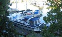 38 Express Carver cruiser, Immaculate, Fully loaded, GPS Raymarine, Radar, Radios, Autohelm, Sleeps 6, 2 cabins, Generator 9500,Swim Platform, Dingy 10ft with 5hp Mercury,New Canvas, Full Enclosure, many extras. Must sell. docked at Lake Simcoe. Balance