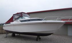 Twin Merc V6s, full tops, large cabin, all fiberglass floors, shore power, hot water, large head, full size cockpit, swimplatform, stereo system, priced right www.kennedyautomarine.com PH 519-243-2361 cell 519-671-4592