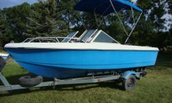 Price includes inboard/outboard Mercury motor and 1988 Shorelander trailer