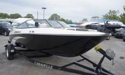 WHY BUY USED WHEN NEW IS ONLY $15995!! 2013 CARAVELLE 17 EBO FISH AND SKI!!! $1000'S IN REBATES ON 2013'S!! 2014 PRICE IS $18995!! LIVE WELL!! REMOTE TROLLING MOTOR!! FISHFINDER!! FISHING SEAT!! FOLDING REAR BENCH!! BOLSTER BUCKET SEATS!! CUSTOM TRAILER