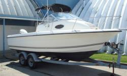Local boat powered by a 175 HP Evinrude outboard. Includes tandem axle trailer. Please call for more details.