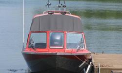 2007-2025 21? Harbercraft, 150 Yamaha 4 stroke outboard - all seamless aluminium & reinforced hull, 2? draft. A Very Spacious interior, comfortably seats 5 plus bow rider, standing room with cover on to protect from the rain, with lots of room to walk