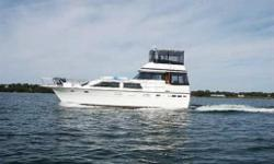 PRICE REDUCED OVER $ 35,000.00 OWNER SAY'S SELL, Any Reasonable offer will be taken. 1978 Trojan 44 Motor Yacht with Twin Inboard Gas Power... A fresh water boat with all the amenities. The 660HP twin Mercruisers rebuilt in 1995 have just 300hrs. The