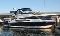Vendor has reduced below $300,000 for FALL 2011. One of a kind and most loved Models of all time. This 2008 Regal 4080 Sedan Bridge was bought new in summer of 2009. Barely brorken-in low hour Yacht and loaded with equipment and ammenities; E-Series