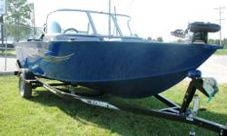 This boat is fully equiped with,Trolling motor, Fish finder, Built in Battery charger, Bow & aft live well, Centre rod storage, Chrome steering wheel Mooring cover, Rear conversion bench seat, Vinyl floor Complete package with swing tongue trailer & load