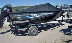 Free Trolling Motor (Mionn Kota 70lb) Free Fishfinder (Humminbird 176 ci) Included! Buy this 2013 Smokercraft 182 Pro Mag at the 2012 Price! This early buy is priced with a(2012) 115 hp Suzuki (Four Stroke) for only $270,995 plus freight and pdi - this