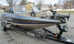 New price$ 18500 2005 Stratos boat 190, fish and ski, 175 Hp Evinrude Direct fuel injection, power tilt and trim, includes trolling motor, 2 fish finders, 173Hrs ,radio, full top, ski post, spare tire, in very good condition includes Warranty. Drive this