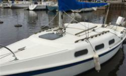 If this ad is still posted, the boat is still available. PRICE INCLUDES THE BALANCE OF WINTER STORAGE AND LAUNCH AT BRONTE MOTOR JUST SERVICED AND OVERHAULED. 22' Tanzer and 1979 Johnson 7.5 hp outboard. Looks great for a 1979 Great boat, easy to sail