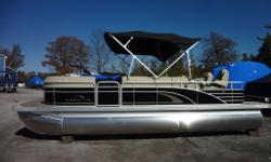 2250 G Series Bennington Pontoon Boat - GBR Model with Entertainment Bar THE ULTIMATE ENTERTAINMENT BOAT!!! The 2250 GBR features a refined entertainment bar area with comfortable bar seating and functional space. The GBR combines practicality, forward