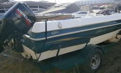 *** HULLY GULLY MARINE SALES ***Just in on trade this 1999 Green and White 18' Sylvan comes with 125 HP Mercury outboard with stainless steel prop, Bimini and Sylvan factory bunk trailer, bow mounted trolling motor and two live wells.For more information
