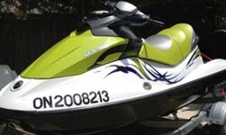 2008 Sea Doo/BRP GTI SE 155hpIn mint condition, must be seen! 3 seater four stroke 155 hp.. only 75 hrs of use.. SE model.. Includes 2010 Karavan Trailer Asking $8000 or best offercell 905 3595104
