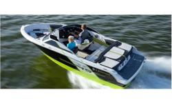 V6-225/SX, TrailerA vivid take on the classic sportboat. The all-new RS Series sportboats have an edgy attitude - and a riveting black and lime exterior color scheme that will make your pulse race. Features custom, color-coordinated interior.