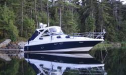 This is most likely the best equipped 3760 Regal on the market. Along with how well the boat was equipped from the factory, the Owner has taken great pride in the maintence and was very selective in adding these addtional options (over $20K): Genuine Teak