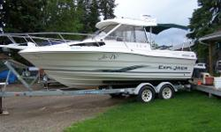Mint shape with new mercruiser 350 mag seacore engine with 2 years warrenty, all new upgraded electronics such as sonar, fish finder, gps and radar all coloured monitors also has head with macirator, windless anchor,9.9 merc trolling motor fully remote,