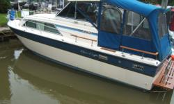 1985 ChrisCraft 283 Hardtop (MOTIVATED SELLER, REDUCED FROM $13,900) Twin 305 Merc's, windlass, navman gps, full camper top, sleeps six, lots of upgrades etc. Good condition, slip available in Port Dover. BRING OFFERS OR TRADES asking $11,900